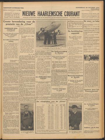 Nieuwe Haarlemsche Courant 1934-10-25