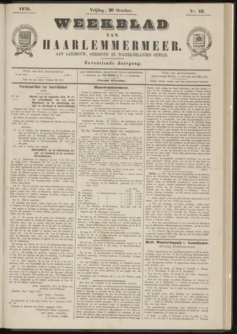 Weekblad van Haarlemmermeer 1876-10-20