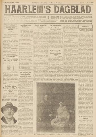 Haarlem's Dagblad 1926-03-01