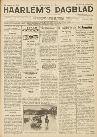 Haarlem's Dagblad 1935-02-07