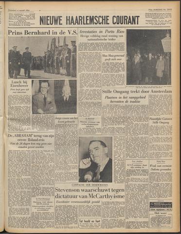 Nieuwe Haarlemsche Courant 1954-03-08