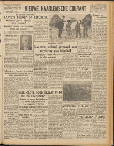 Nieuwe Haarlemsche Courant 1947-12-20