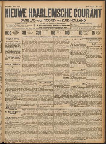 Nieuwe Haarlemsche Courant 1909-09-07