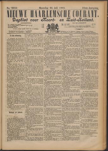 Nieuwe Haarlemsche Courant 1905-07-24