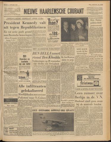 Nieuwe Haarlemsche Courant 1962-09-14