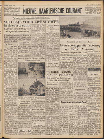 Nieuwe Haarlemsche Courant 1952-07-08