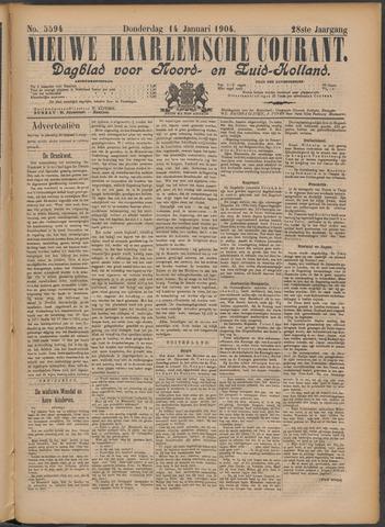 Nieuwe Haarlemsche Courant 1904-01-14