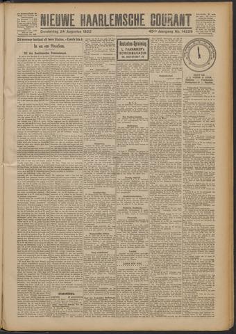 Nieuwe Haarlemsche Courant 1922-08-24