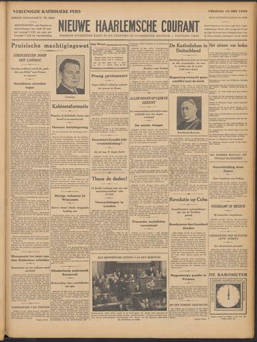 Nieuwe Haarlemsche Courant 1933-05-19
