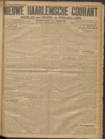 Nieuwe Haarlemsche Courant 1916-09-27