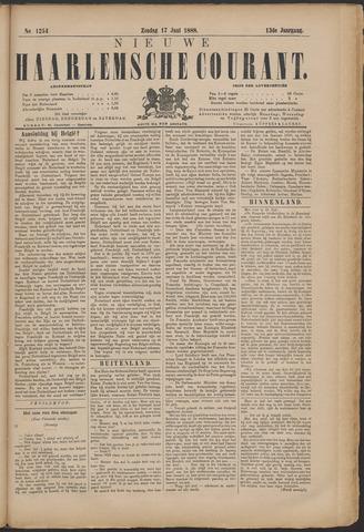 Nieuwe Haarlemsche Courant 1888-06-17