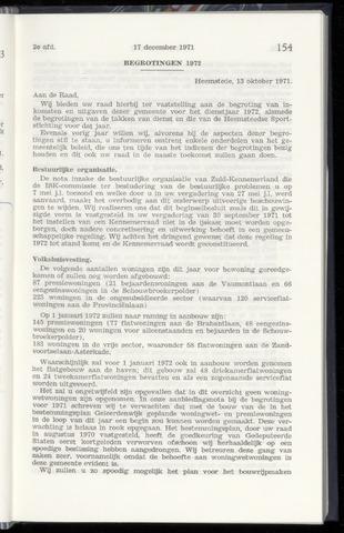 Raadsnotulen Heemstede 1971-12-17