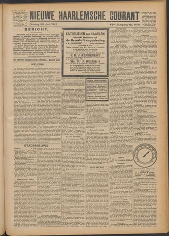 Nieuwe Haarlemsche Courant 1922-06-20