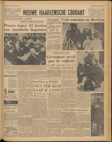 Nieuwe Haarlemsche Courant 1963-12-21