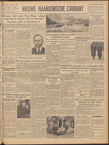 Nieuwe Haarlemsche Courant 1949-03-07