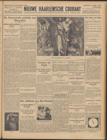 Nieuwe Haarlemsche Courant 1935-04-21