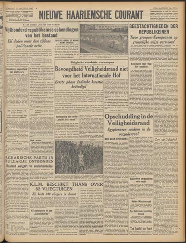 Nieuwe Haarlemsche Courant 1947-08-27