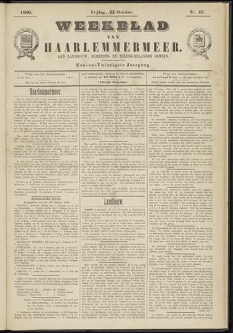 Weekblad van Haarlemmermeer 1880-10-22