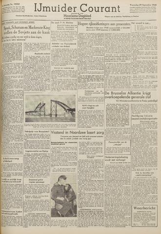 IJmuider Courant 1948-09-29