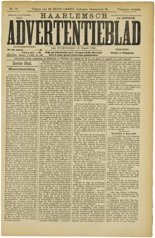 Haarlemsch Advertentieblad 1898-03-16