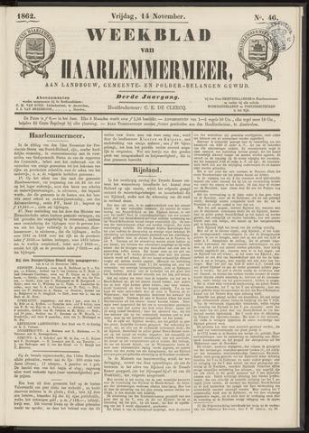 Weekblad van Haarlemmermeer 1862-11-14