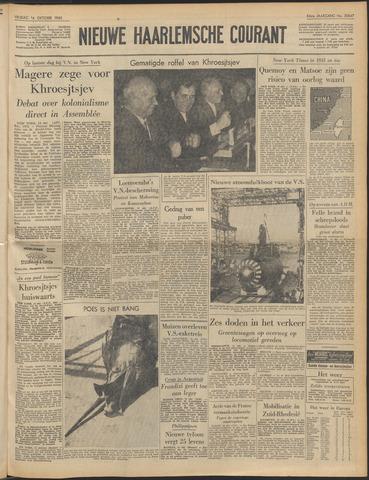Nieuwe Haarlemsche Courant 1960-10-14