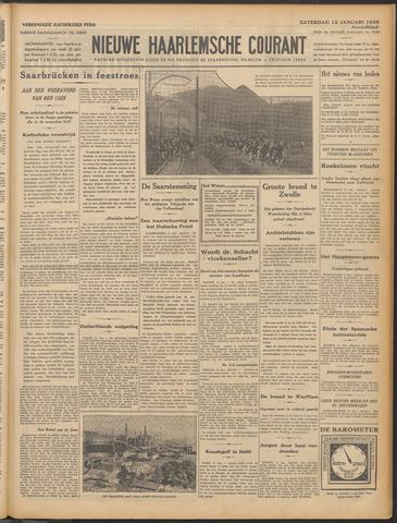 Nieuwe Haarlemsche Courant 1935-01-12