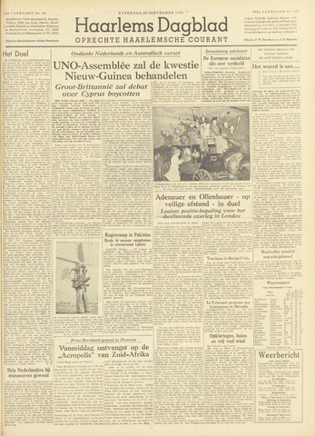 Haarlem's Dagblad 1954-09-25