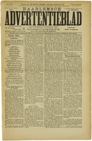 Haarlemsch Advertentieblad 1888-12-19