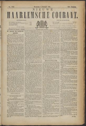 Nieuwe Haarlemsche Courant 1891-02-04