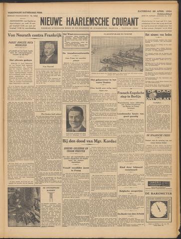 Nieuwe Haarlemsche Courant 1934-04-28