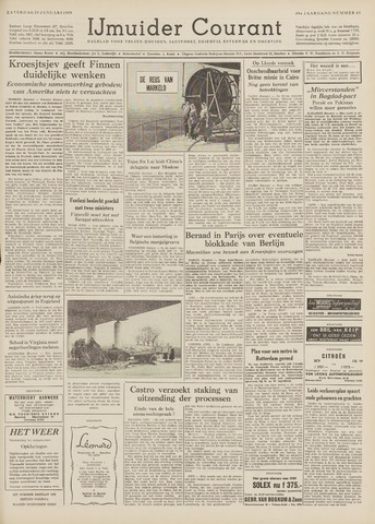 IJmuider Courant 1959-01-24