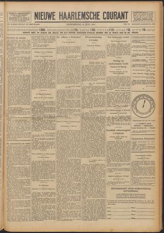 Nieuwe Haarlemsche Courant 1931-07-23
