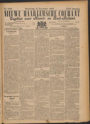 Nieuwe Haarlemsche Courant 1902-11-13