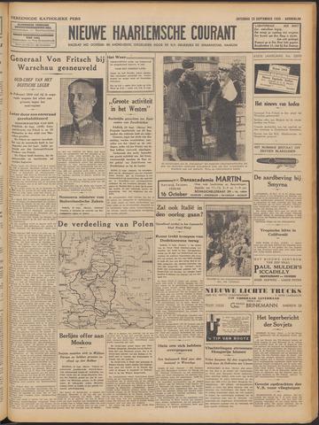 Nieuwe Haarlemsche Courant 1939-09-23