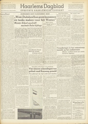 Haarlem's Dagblad 1951-09-01
