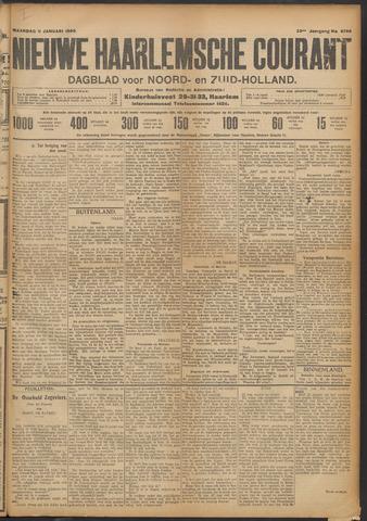 Nieuwe Haarlemsche Courant 1909-01-11