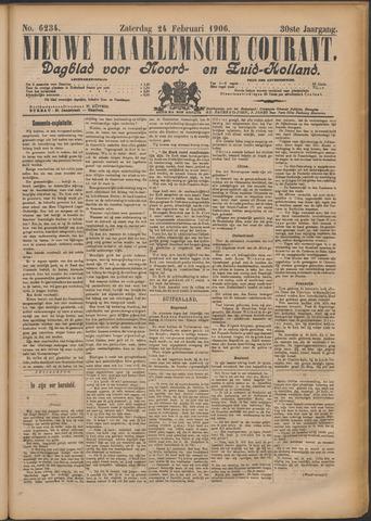 Nieuwe Haarlemsche Courant 1906-02-24