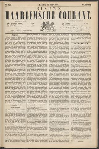 Nieuwe Haarlemsche Courant 1883-03-15