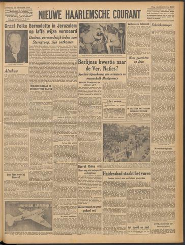 Nieuwe Haarlemsche Courant 1948-09-18