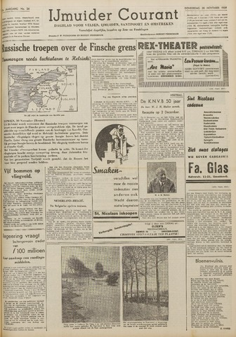 IJmuider Courant 1939-11-30