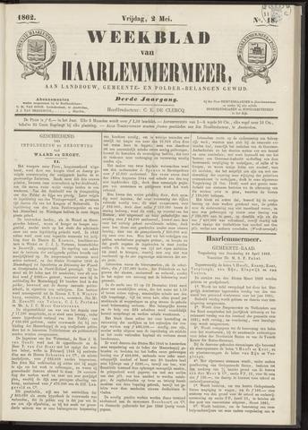 Weekblad van Haarlemmermeer 1862-05-02