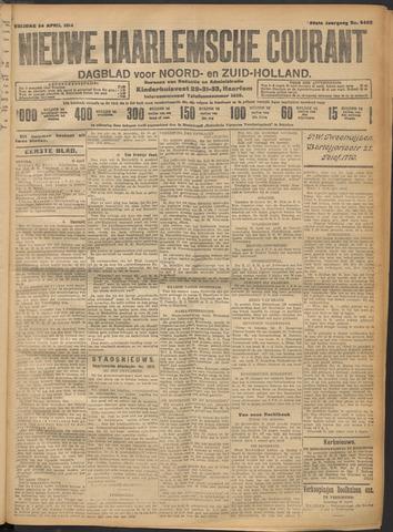 Nieuwe Haarlemsche Courant 1914-04-24