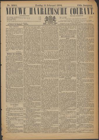 Nieuwe Haarlemsche Courant 1894-02-11