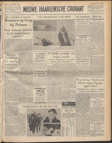 Nieuwe Haarlemsche Courant 1958-02-22