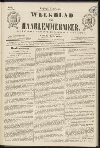 Weekblad van Haarlemmermeer 1863-11-06