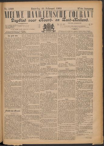 Nieuwe Haarlemsche Courant 1903-02-14