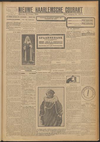 Nieuwe Haarlemsche Courant 1923-10-29
