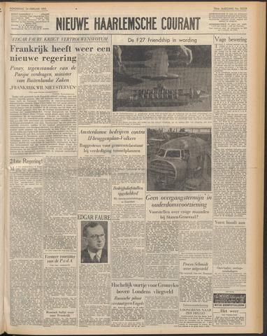 Nieuwe Haarlemsche Courant 1955-02-24