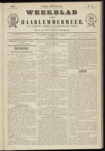Weekblad van Haarlemmermeer 1881-02-25
